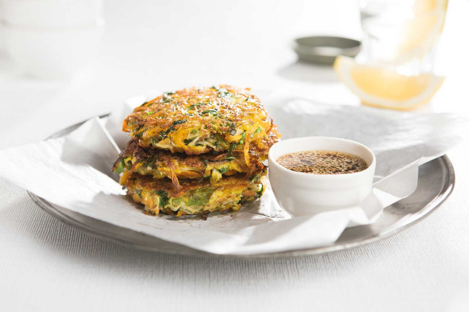 Japanese Vegetable Pancake Recipe | Healthy Lunch Box - healthy recipes japanese