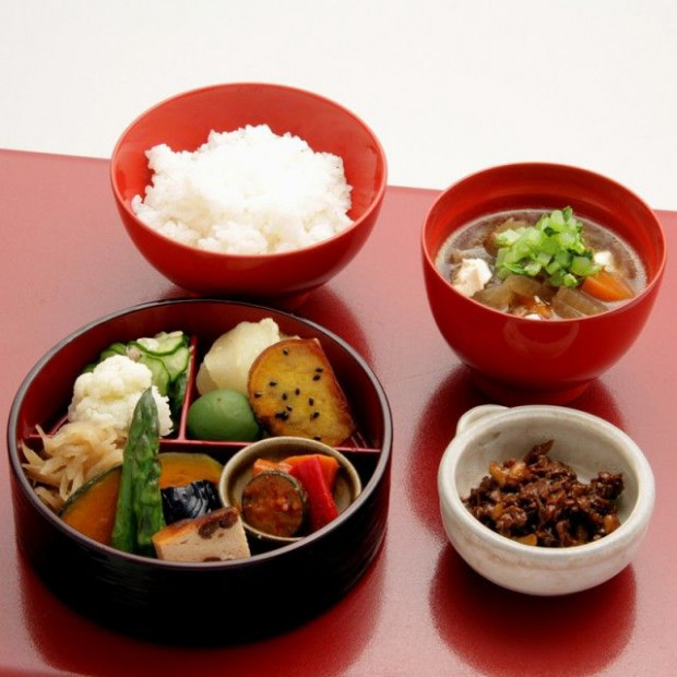 Japanese vegetarian set | Japanese Food | Japanese dishes ..