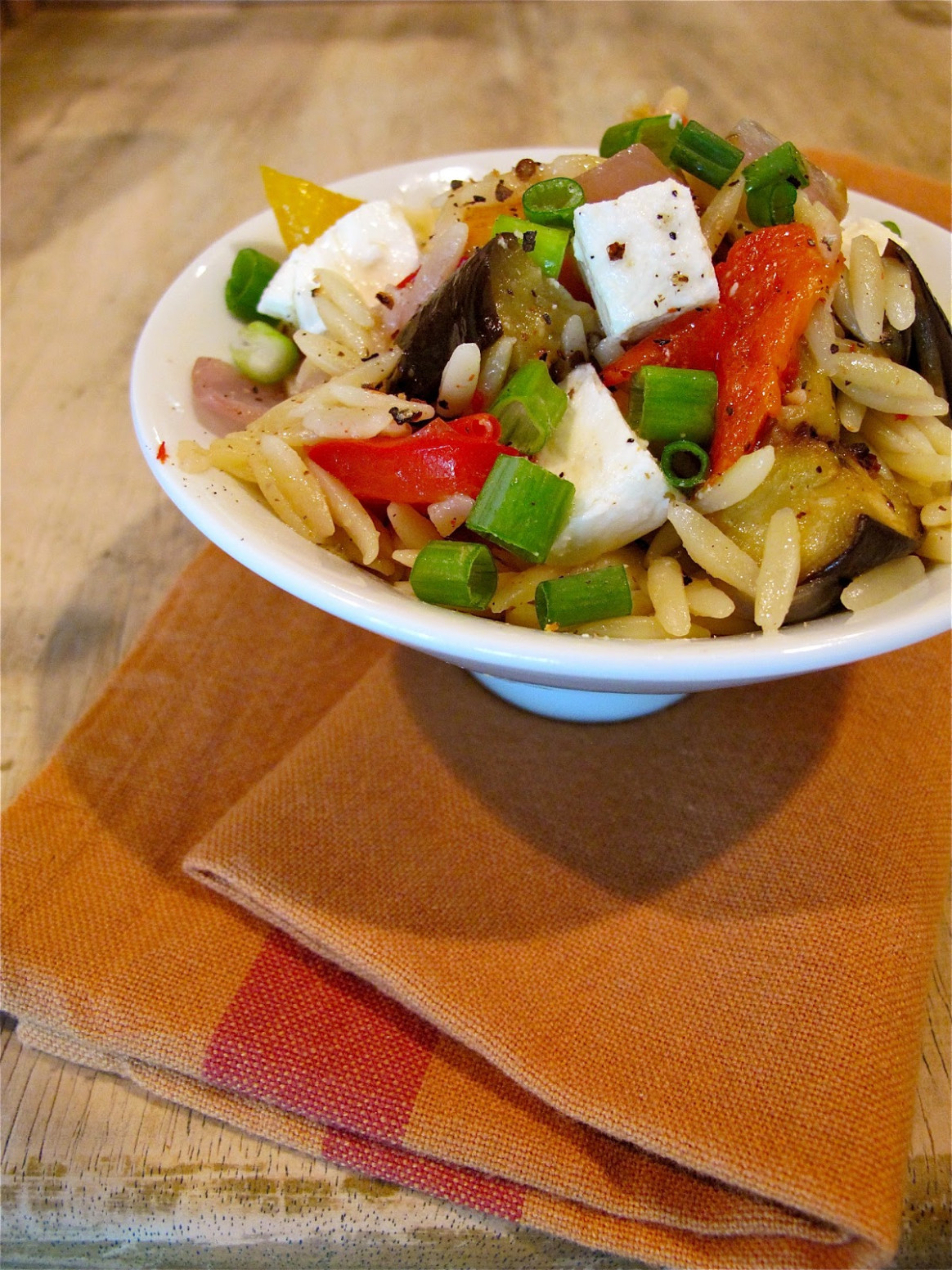Jenny Steffens Hobick: Recipes   Roasted Vegetable & Orzo ..