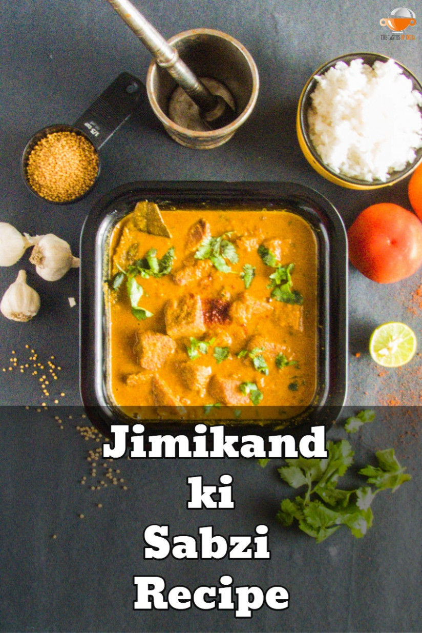 Jimikand ki Sabzi Recipe Bihari Style - How to Make Elephant ..