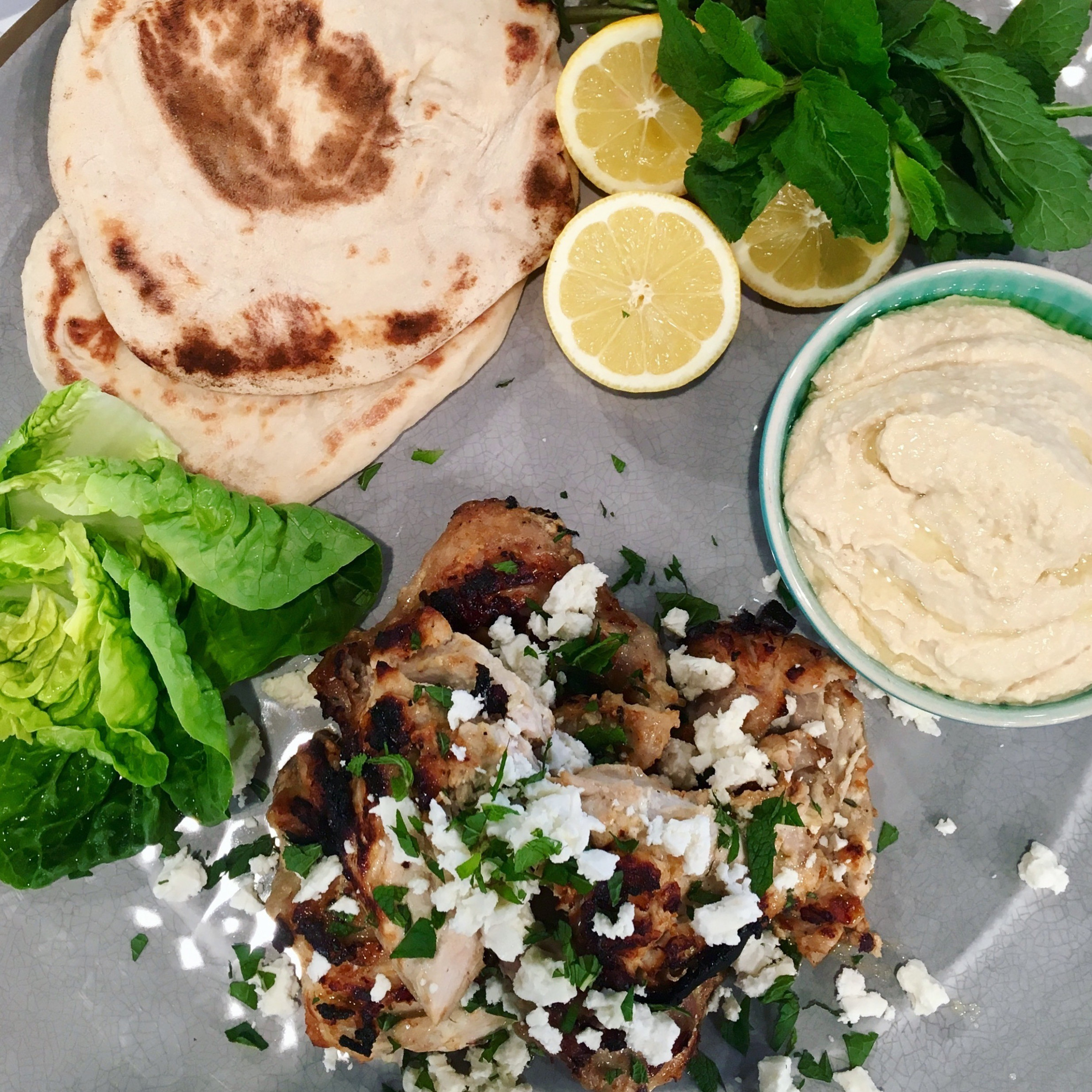 John Torode's Chargrilled Yoghurt Chicken With Feta And ..