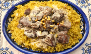 Jordanian Food Mansaf Recipe | Geo Designs Unlimited – Recipes Jordanian Food
