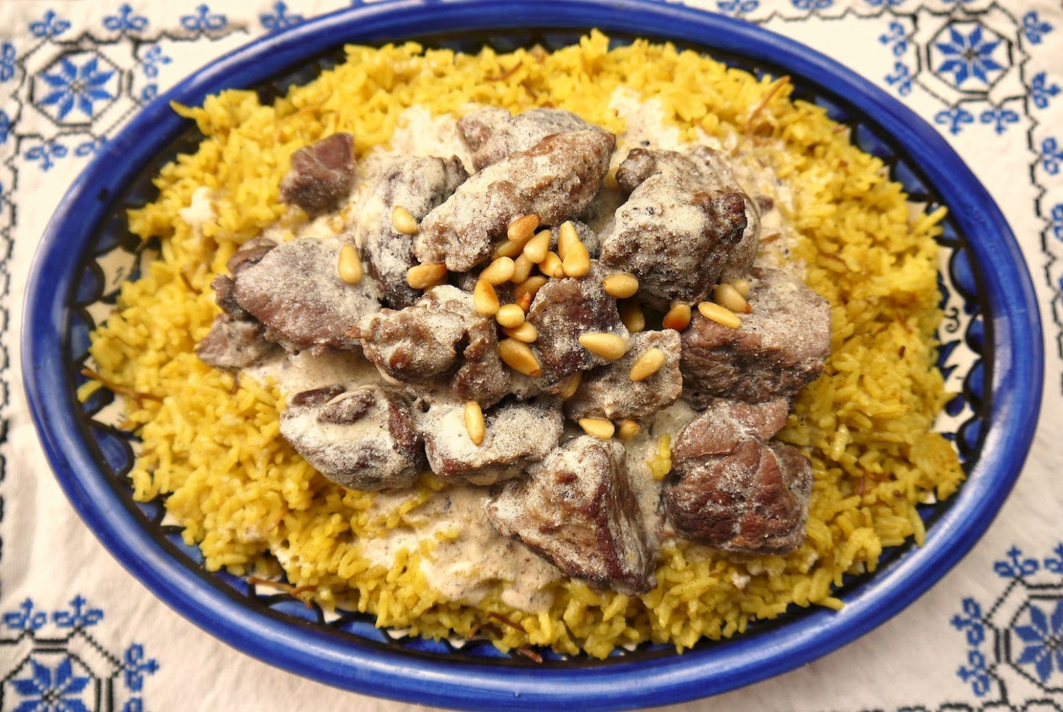 jordanian food mansaf recipe | Geo Designs Unlimited - recipes jordanian food