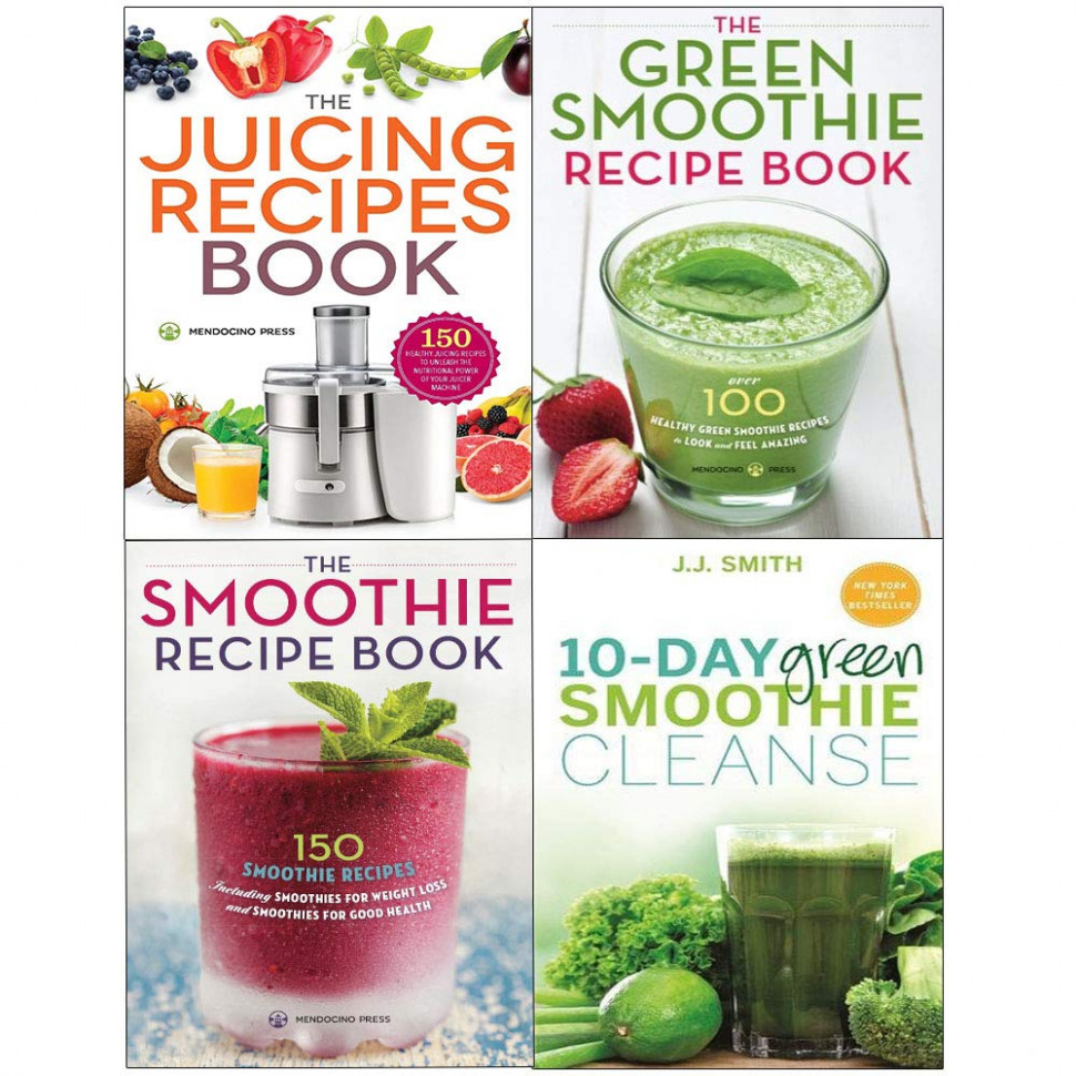 Juicing recipes book, 10-day green smoothie cleanse, green ..