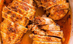 Juicy Baked Chicken Breast (How Long To Bake) – IFOODreal ..