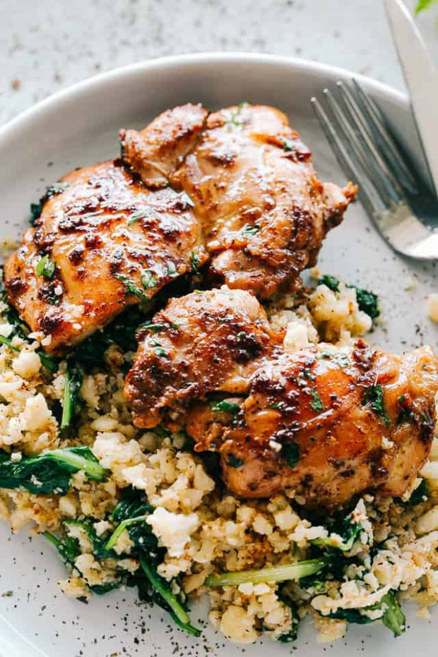 Juicy Stove Top Chicken Thighs | Easy Chicken Thighs ..