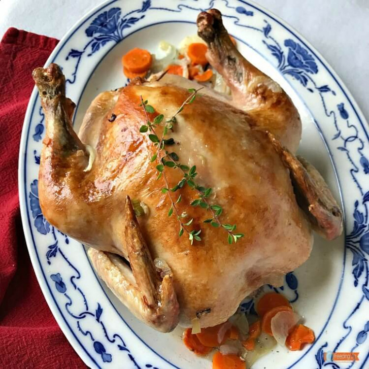 Julia Childs Roast Chicken, the best you will ever have - julia child recipes chicken