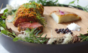 Juniper Brined Venison With Class Pomme Anna | Club House ..