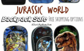 Jurassic World Backpack SALE, Back To School Deals – A ..