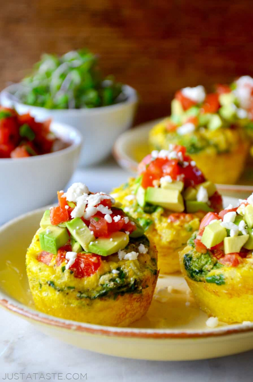 Just A Taste | Healthy Breakfast Egg Muffins - Recipes Muffins Healthy