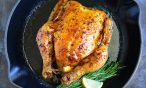 Just A Taste | Simple Roast Chicken With Garlic And Lemon – Chicken Recipes Simple