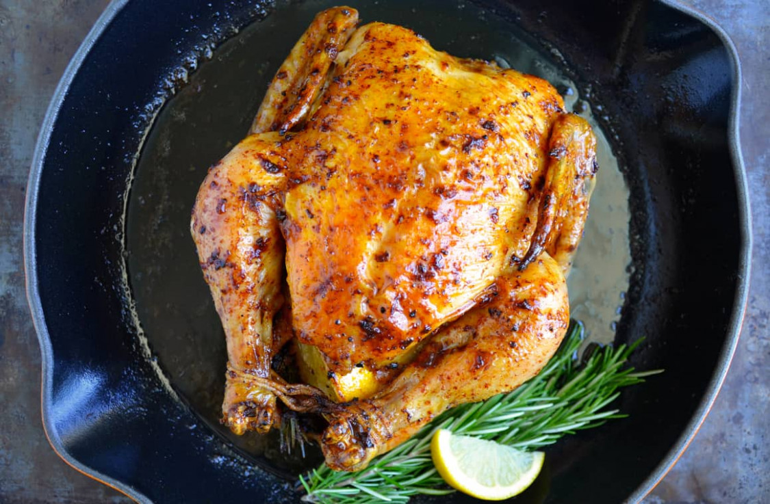 Just a Taste | Simple Roast Chicken with Garlic and Lemon - chicken recipes simple