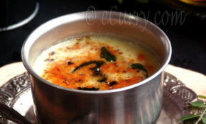 Kadhi - Spiced Yogurt Soup
