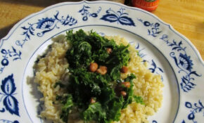 Kale And Rice: Recipe – Recipes Non Vegetarian