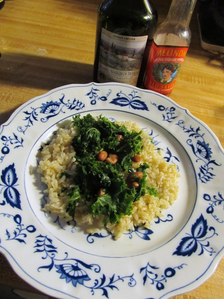 Kale And Rice: Recipe - Recipes Non Vegetarian