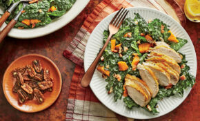 Kale And Sweet Potato Salad With Chicken Recipe – Healthy Chicken And Kale Recipes