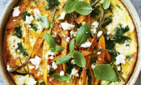 Kale, Pumpkin & Feta Frittata With Pesto Recipe | Healthy Recipe – Recipes Healthy Food Guide