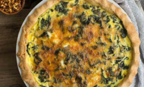 Kale Quiche With Garlic – Recipes Quiche Vegetarian
