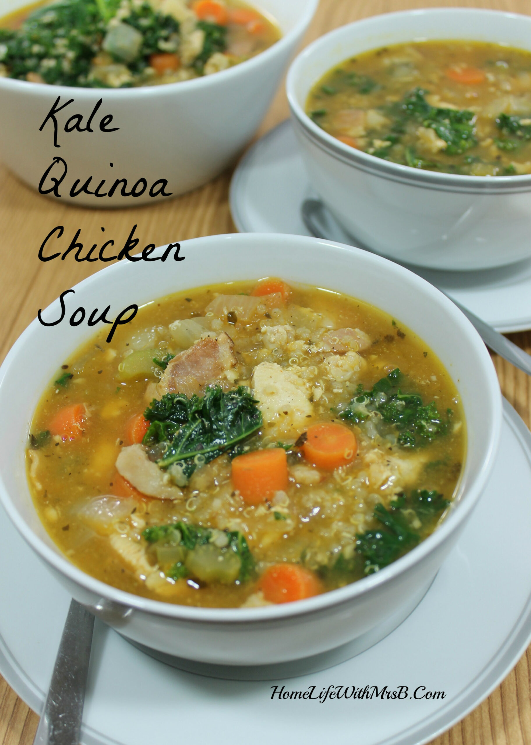 Kale Quinoa Chicken Soup - recipes kale and chicken