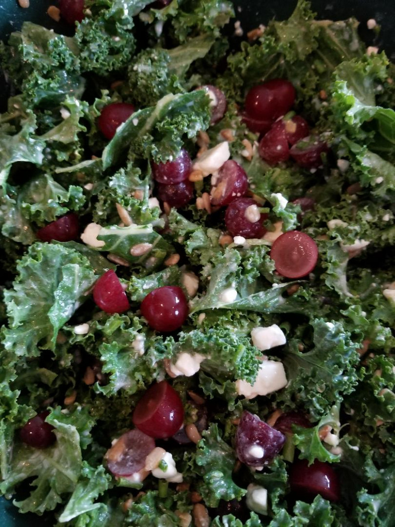 Kale Salad – Unprocessed Food Life - unprocessed food recipes