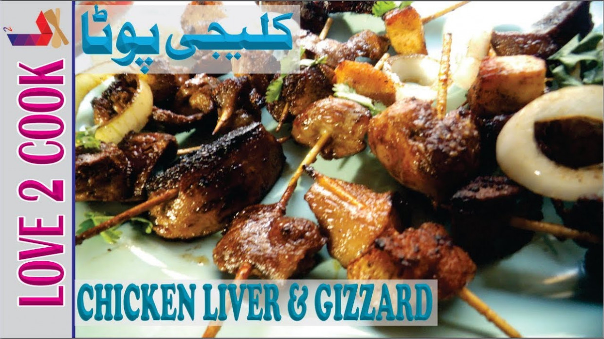 Kaleji Fry-Gizzard Fry Recipe-Chicken Liver Recipes In Urdu ..
