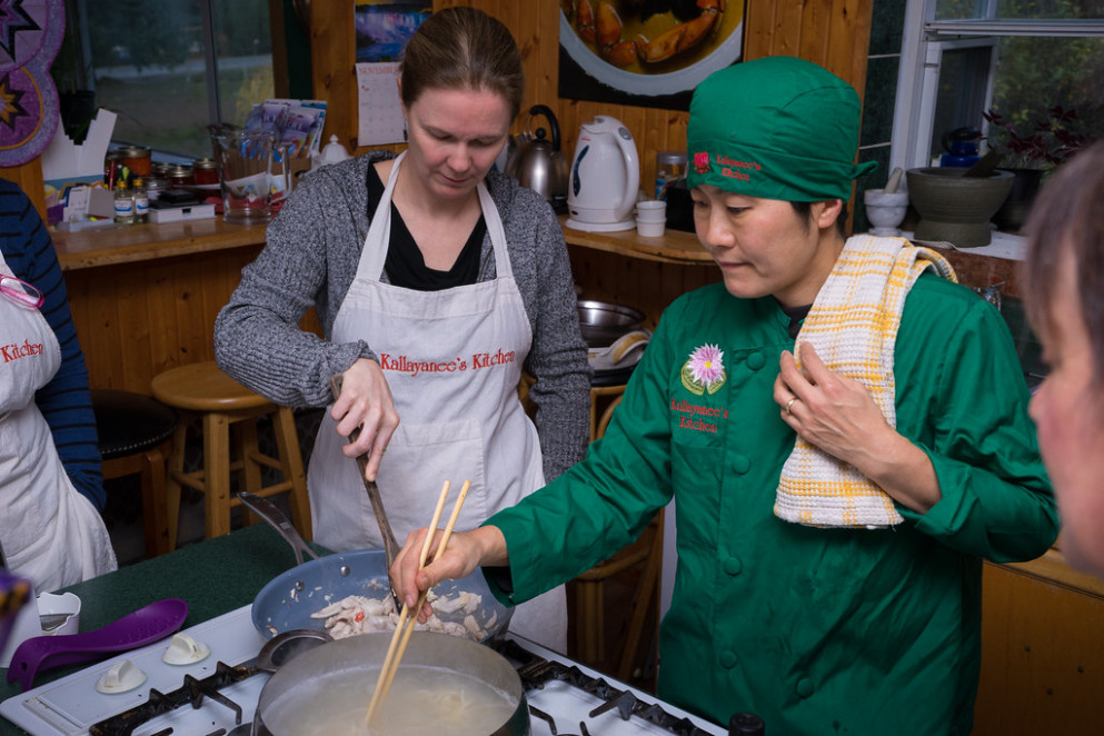 Kallayanee's Kitchen: The Best Thai Food You Can Learn To Make — On Vancouver Island - Recipes Drunken Chicken