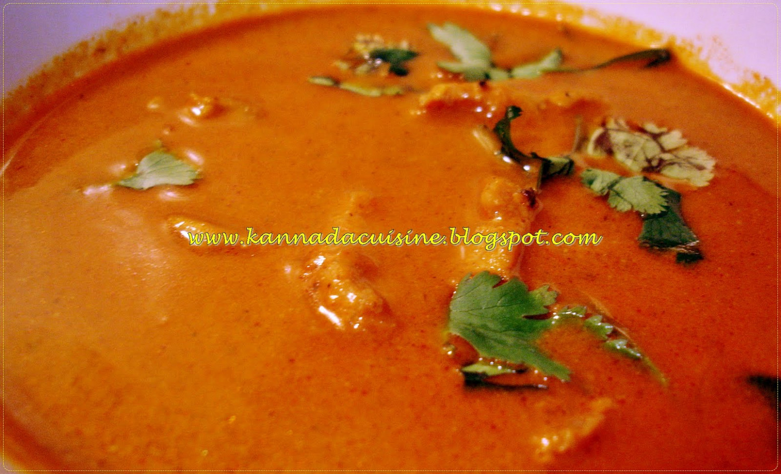 KANNADA CUISINE: Koli Saaru /Chicken Curry - chicken recipes kannada