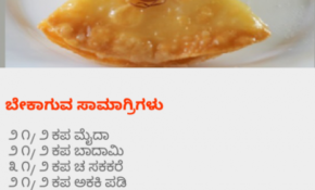 Kannada Sweets Dishes Recipes For Festivals  2017 ..