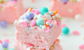 Kara's Party Ideas Easy Two Ingredient Unicorn Fudge ..