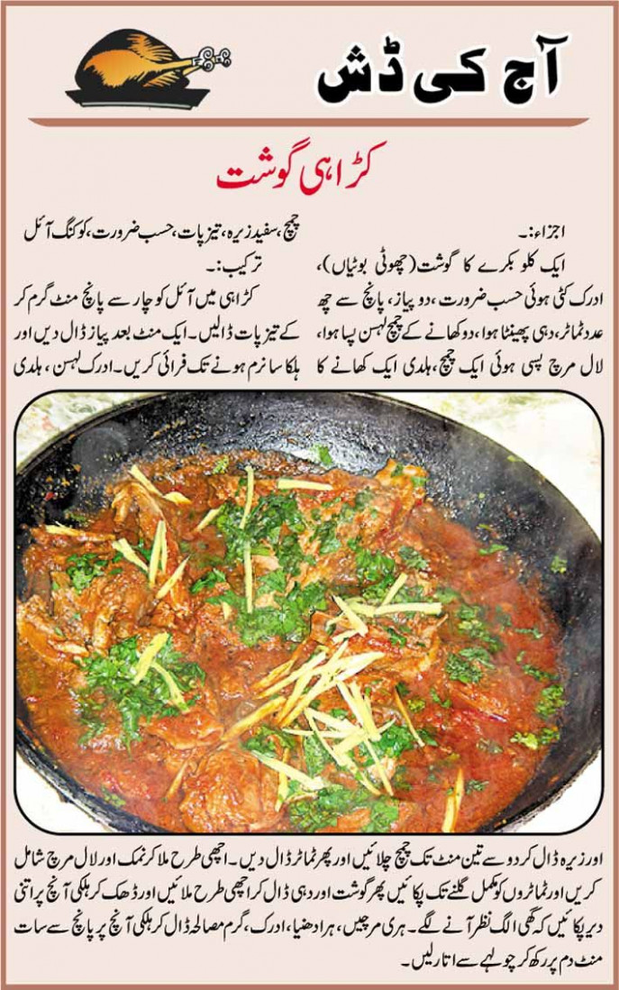 Karahi Gosht recipe in Urdu | My Recipes in 2019 | Chicken ..
