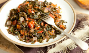 Kenyan Style Kale And Tomatoes – Whole Food Recipes