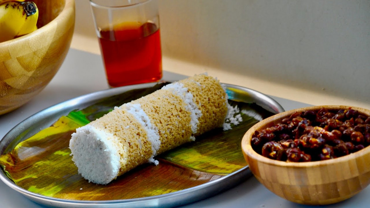 Kerala Soft Wheat Puttu/Healthy Gothambu Puttu /Malayalam ..