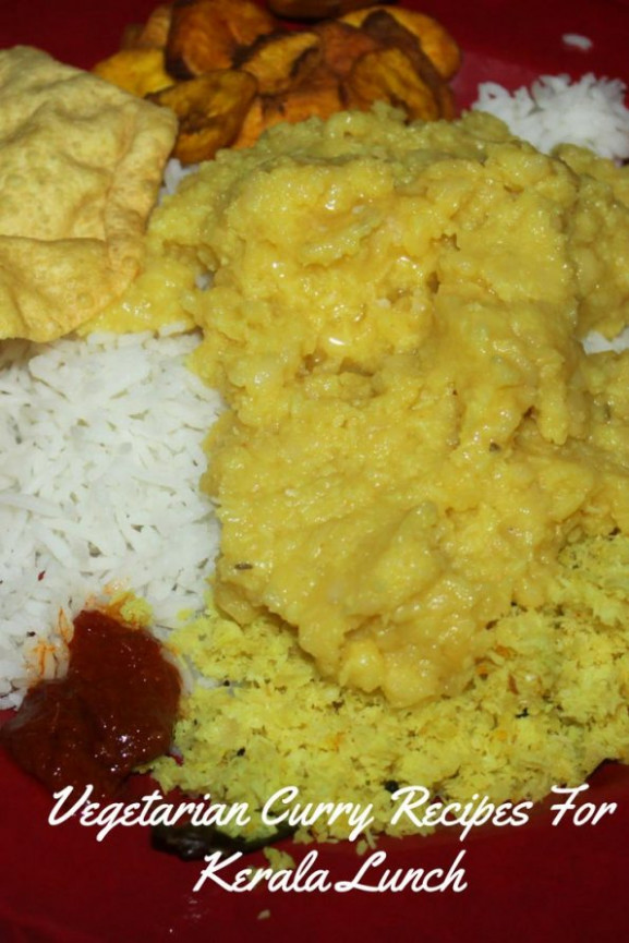 Kerala Vegetarian Curry Recipes For Lunch & Dinner ..