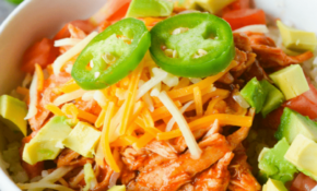 Keto Chicken Enchilada Bowl – Hey Keto Mama – Keto Recipes Dinner