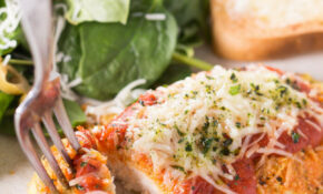 Keto Chicken Parmesan Recipe | Low Carb Recipes By That's ..