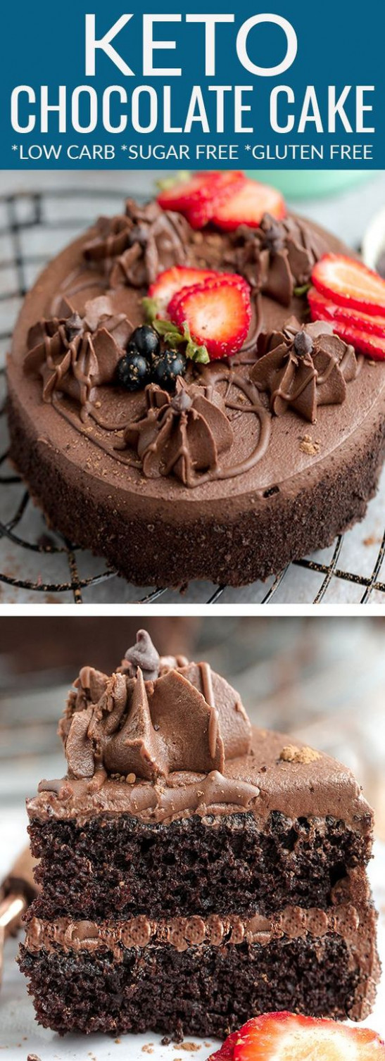 Keto Chocolate Cake - Healthy Snacks Dairy Free - healthy recipes keto chocolate cake