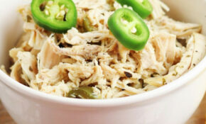 Keto Coconut Curry Lime Shredded Chicken – Instant Pot Keto Recipes Chicken