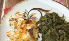 Keto Creamy Chicken with Bacon & Cheese | Kasey Trenum