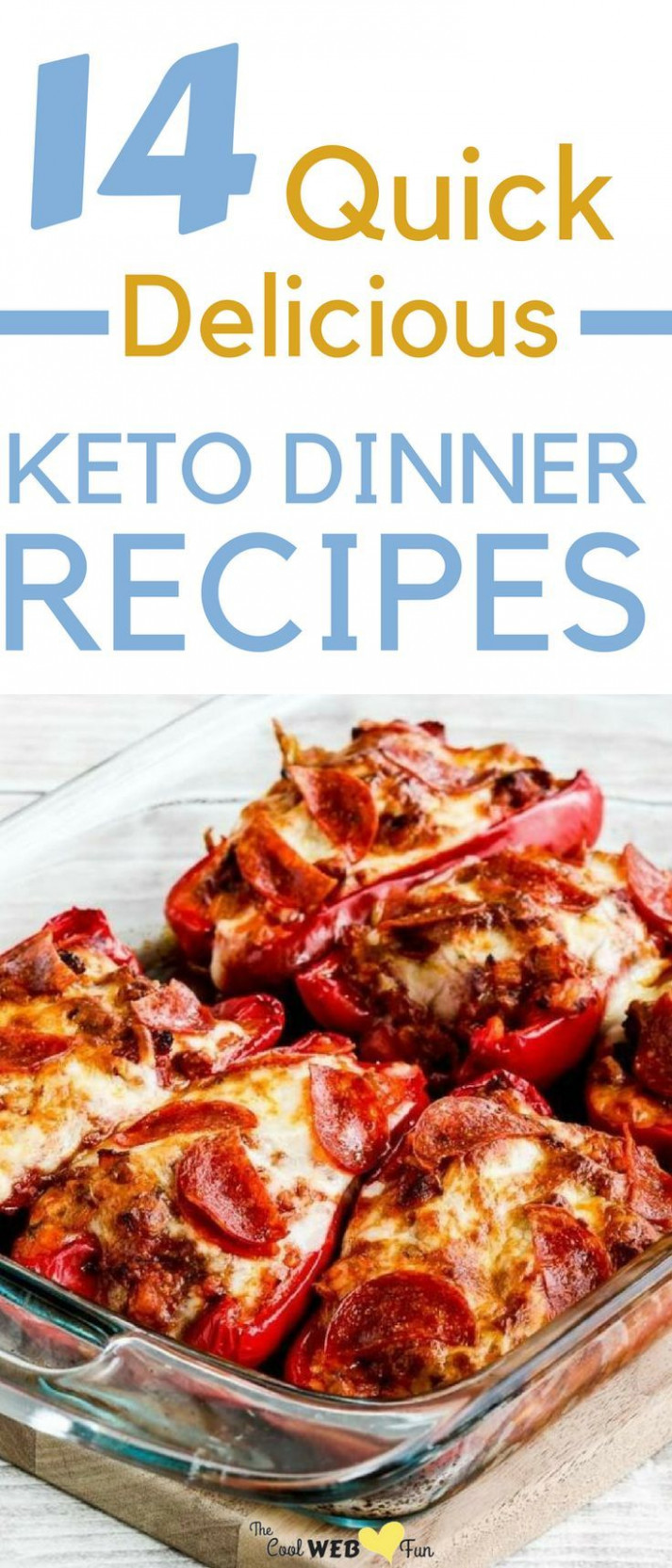 Keto Dinner: 12 Simple + Quick Keto Dinner Recipes to make ..