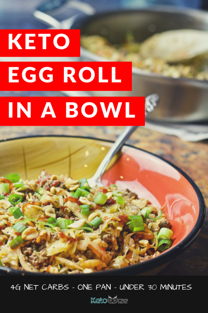 Keto Egg Roll In A Bowl Recipe - recipes pinterest dinner