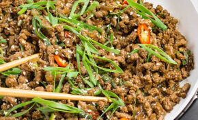 Keto Ground Beef Recipe – Sticky Korean Stir Fry – Recipes Minced Meat Healthy