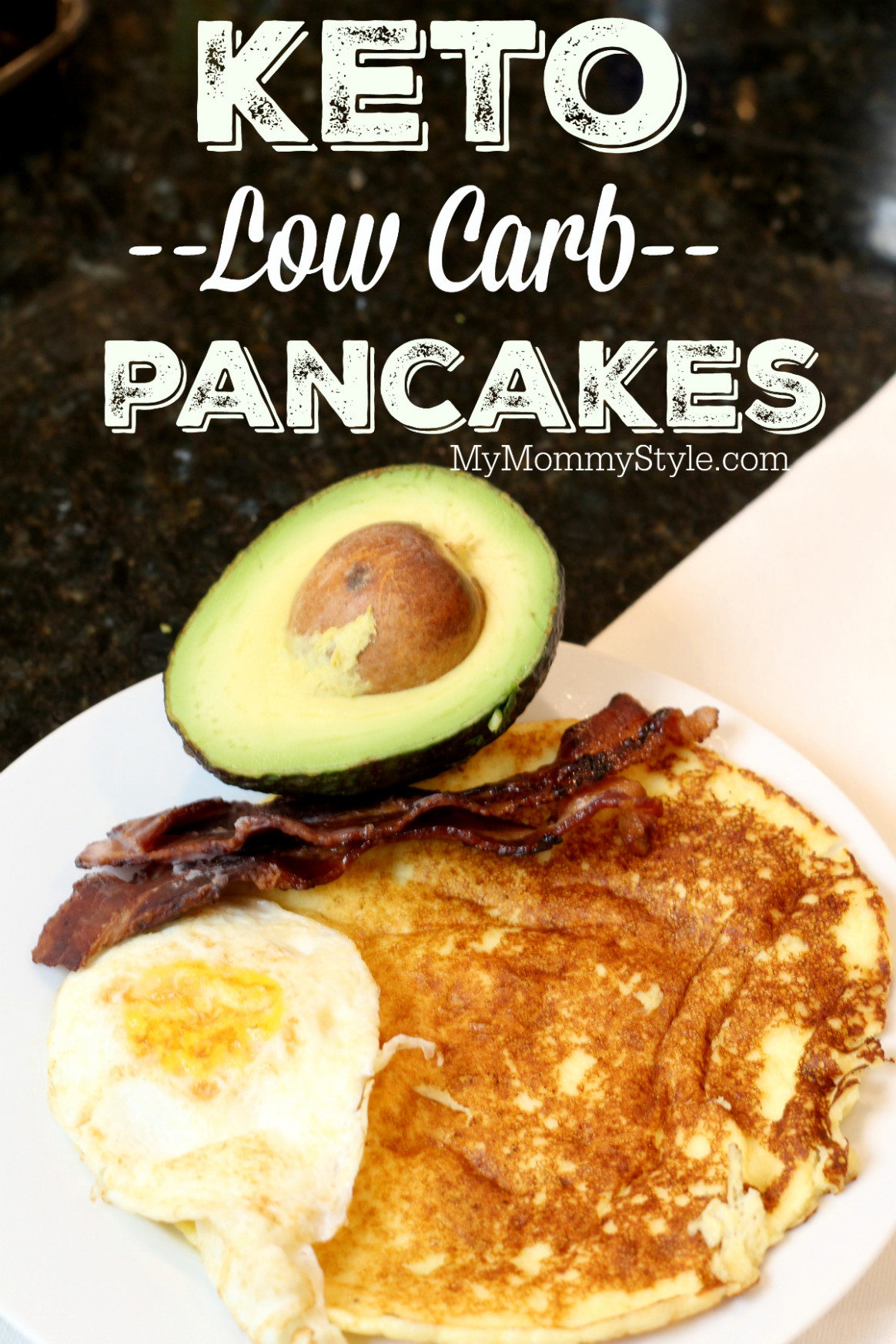 Keto, Low carb pancakes to help you reach your low carb goals - healthy recipes yogurt