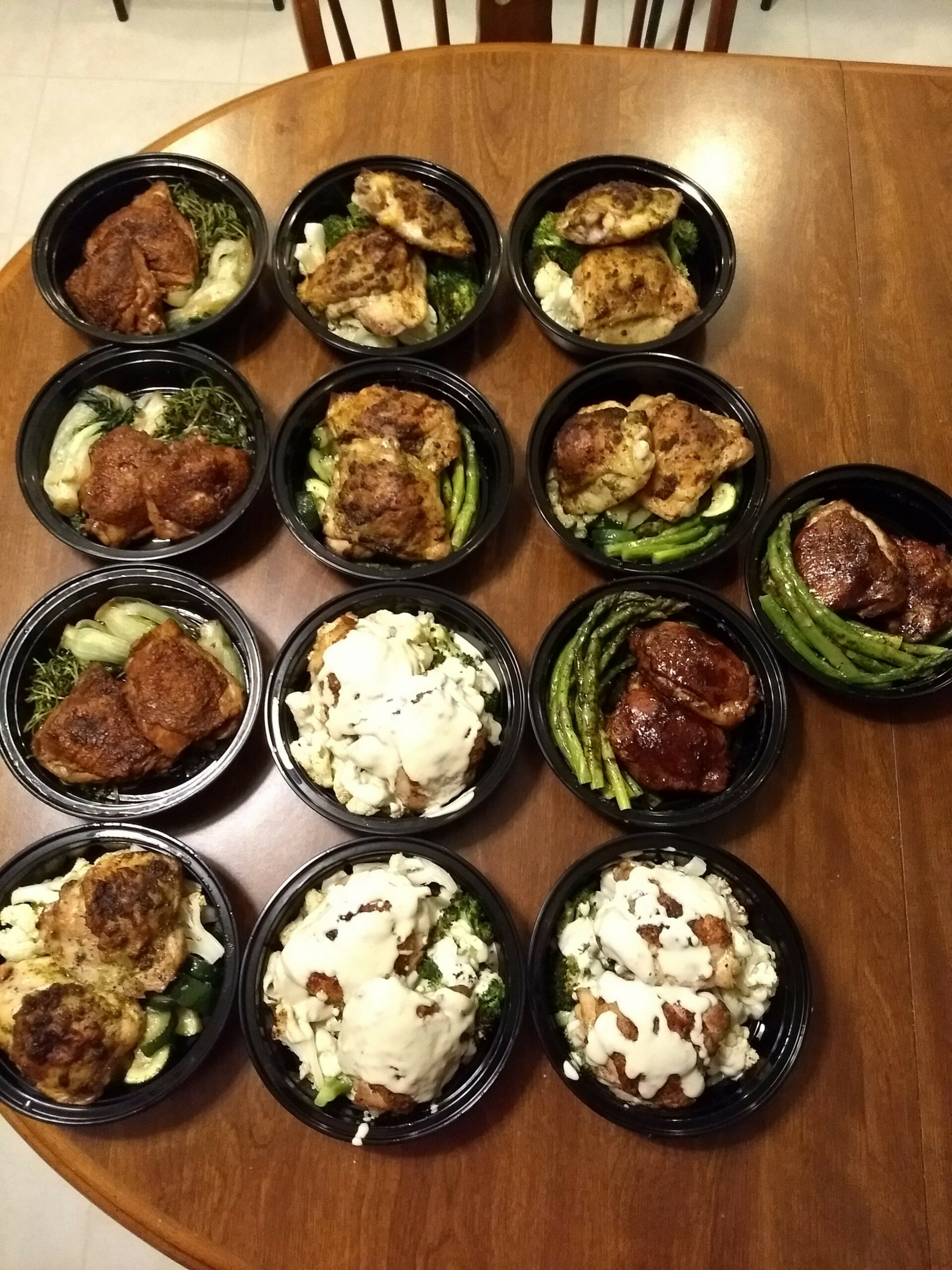 Keto Meal Prep - Chicken Thighs Four Ways: Pesto Rubbed ..