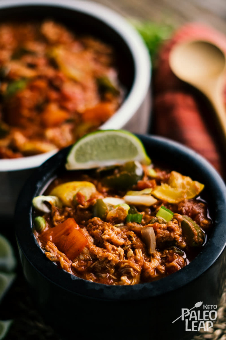 Keto Slow-Cooker Mexican Chicken Recipe - slow cooker recipes chicken