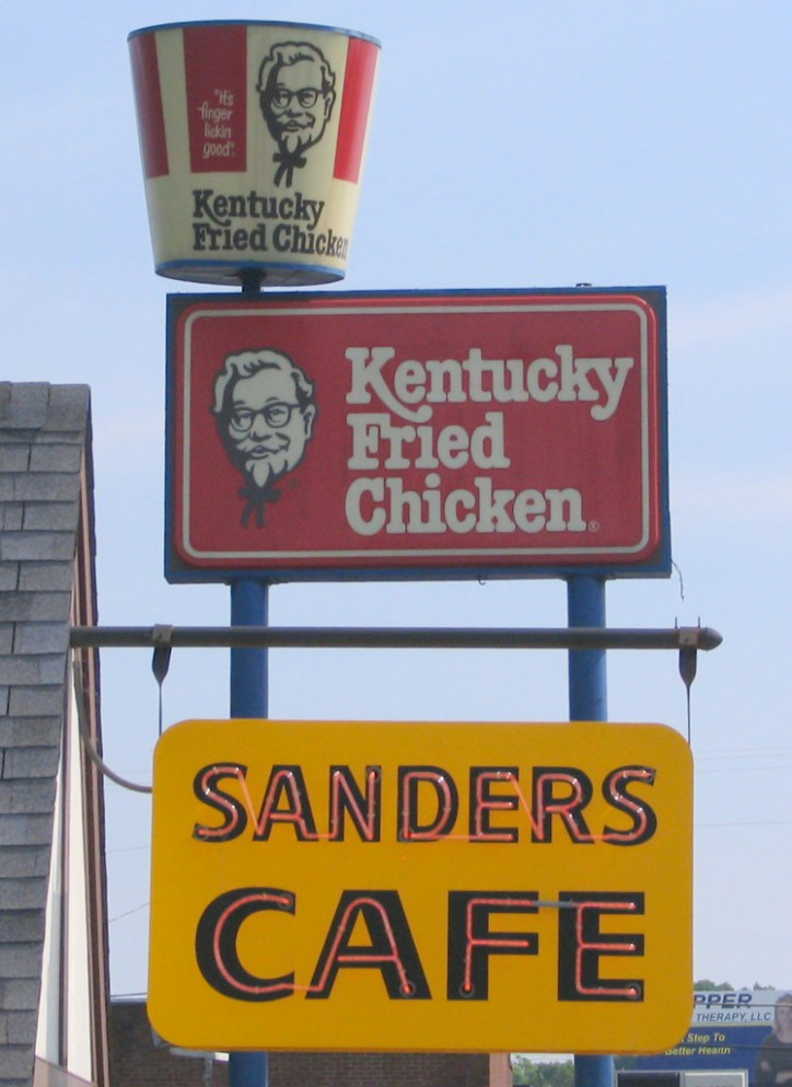 KFC signs: Old and New - recipes kentucky fried chicken