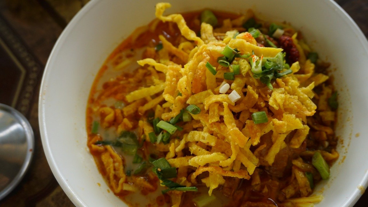 Khaosoi, Recipe, Curried, Noodle, Soup - recipes dinner with eggs
