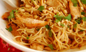 Kid Favorite: Thai Peanut Chicken And Noodles – Vermicelli Noodle Recipes Chicken