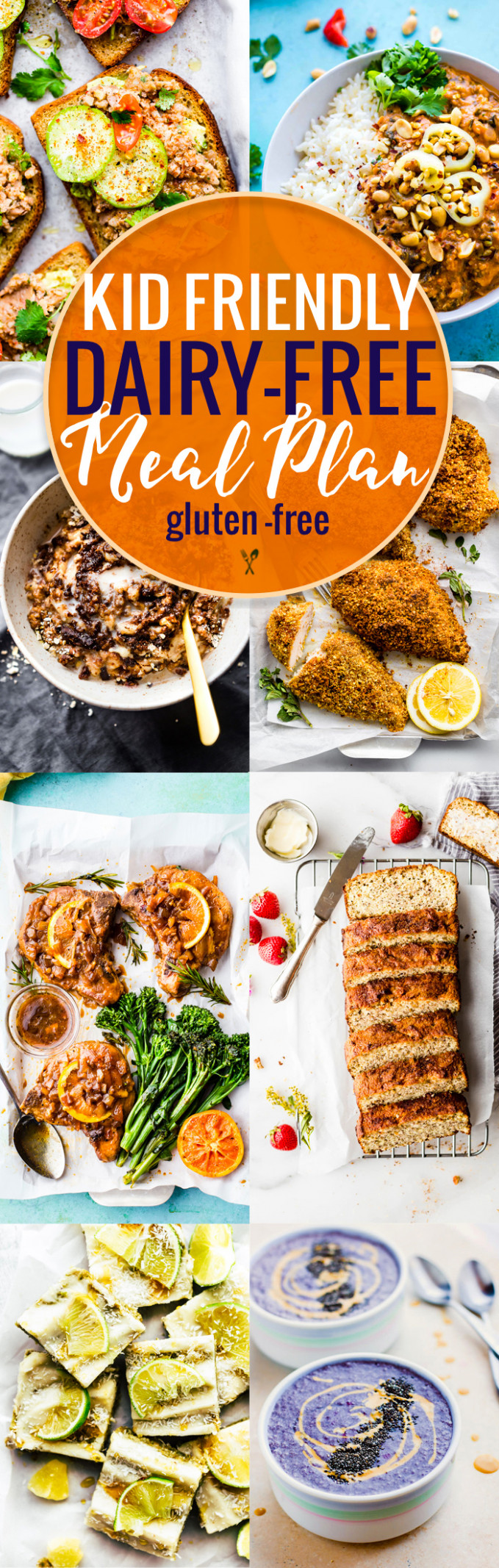 Kid Friendly Dairy Free Meal Plan | Cotter Crunch - Gluten ..