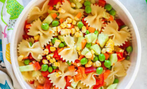 Kid Friendly Pasta Salad – Little Sunny Kitchen – Chicken Recipes For Toddlers
