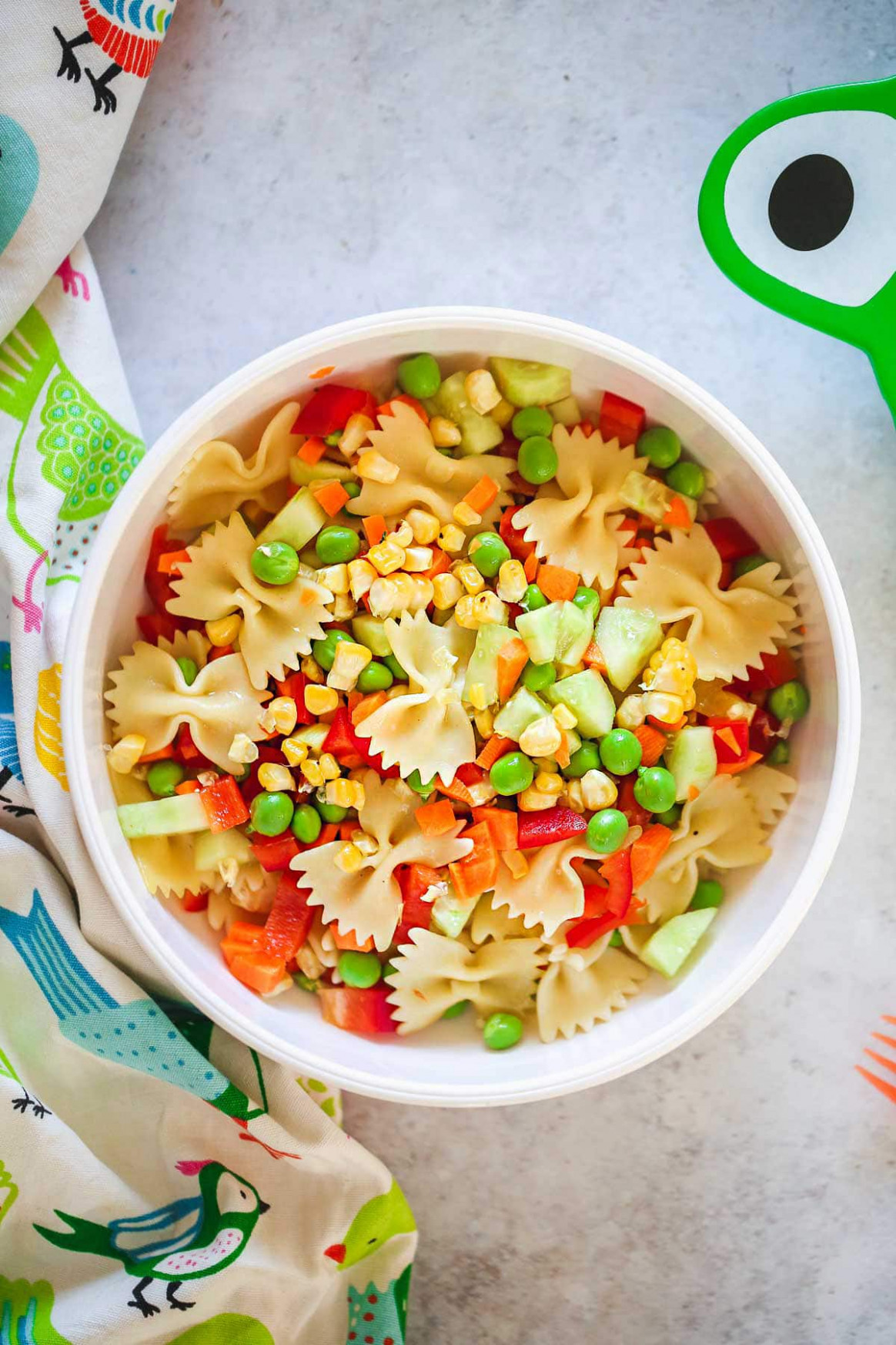Kid Friendly Pasta Salad - Little Sunny Kitchen - Chicken Recipes For Toddlers